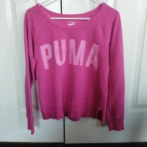 Puma slightly cropped sweatshirt